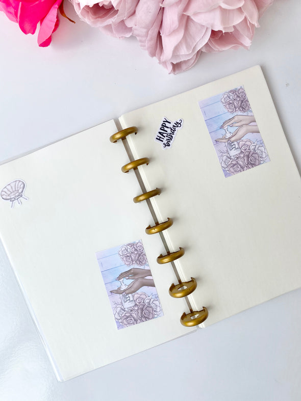 Reusable Sticker Book - Sticker Storage