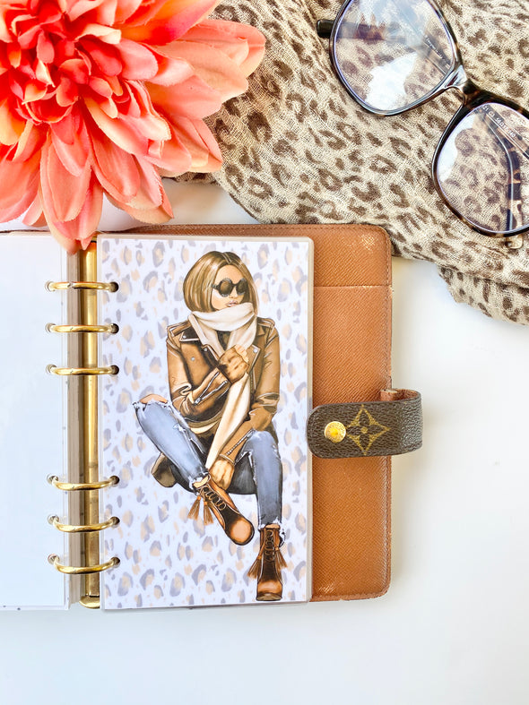 Fall Spice Girl Planner Dashboard