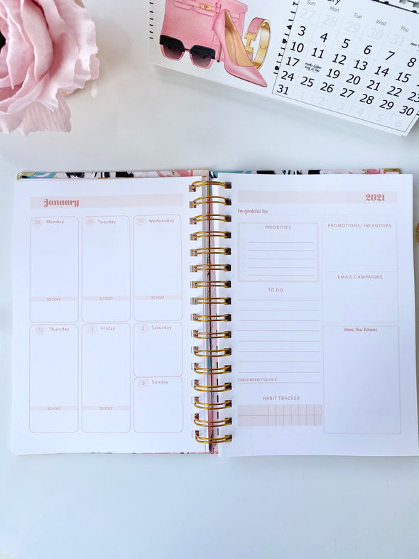Business Planner A5 Size