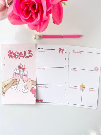 Galentines Day Weekly Inserts