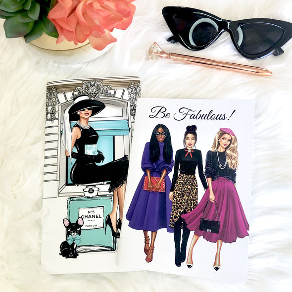 Be Fabulous B6 Traveler's Notebook Inserts