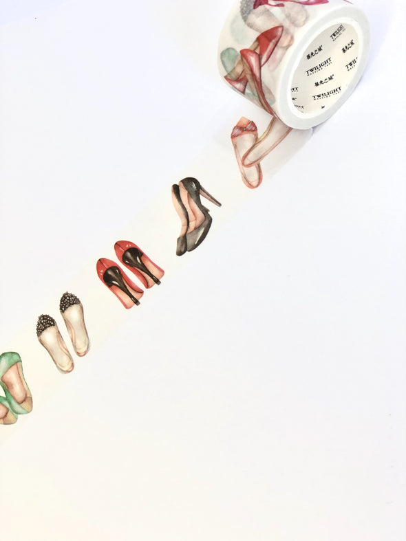 Wide Shoes Washi Tape