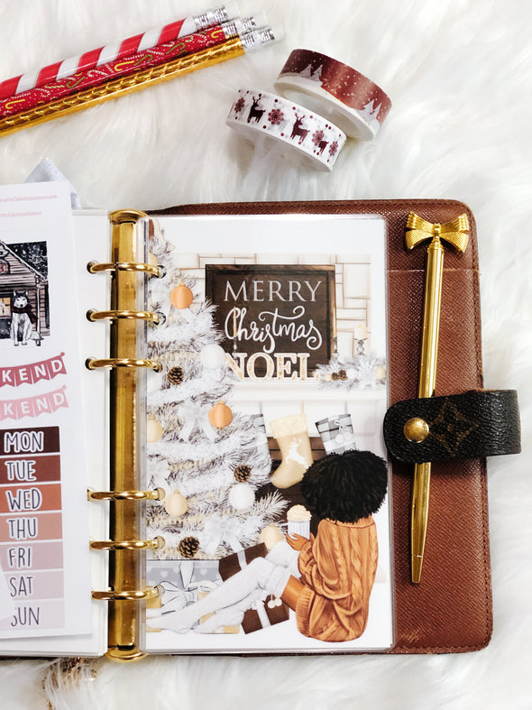 Holiday Morning Planner Dashboard