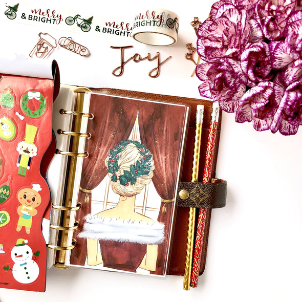 Christmas Girl Planner Dashboard