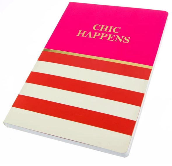 Chic Happens Soft Cover Journal