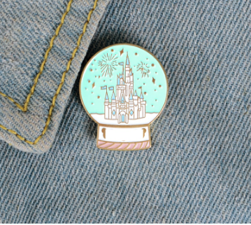 Magic Castle Enamel Pin