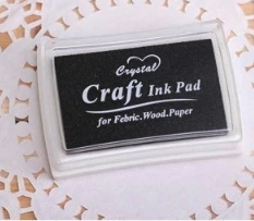Craft Black Inkpad Inkpad Rubber Stamps