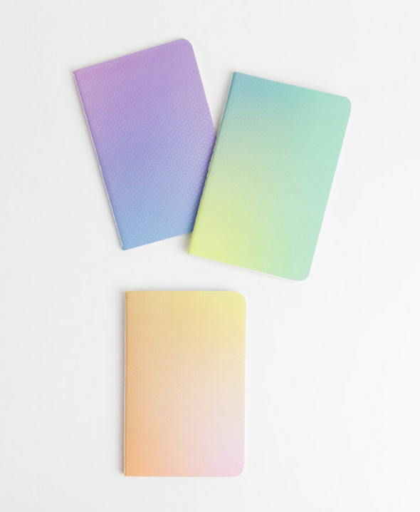 Pocket Gradient Journal Set of 3