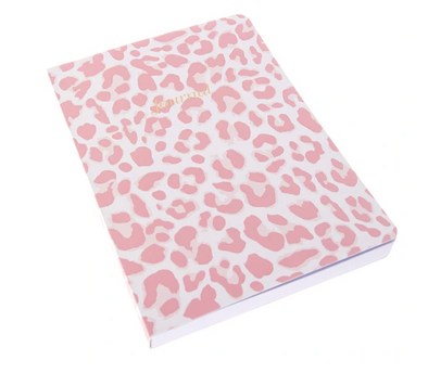 Pink Leopard Soft Cover Journal