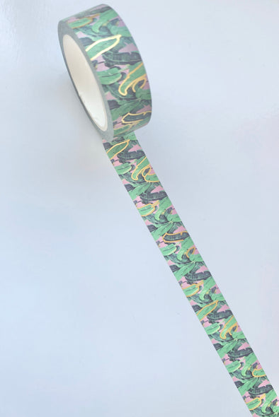 Tropical Chic Leaves Washi Tape