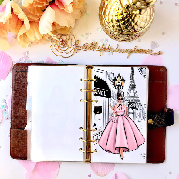 Paris Lady Planner Dashboard