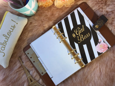 Girl Boss Planner Dividers - Set of 6