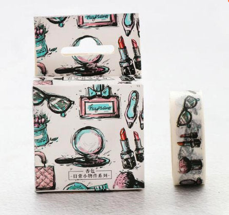 Girly Girl MakeUp Cute Washi Tape