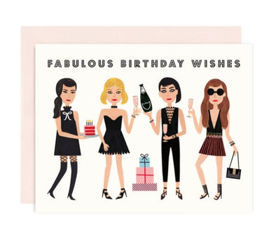 Fabulous Birthday Wishes Card