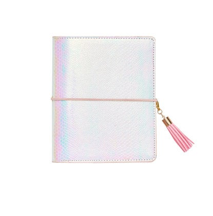 Holographic Pink Mermaid A7 Ring Planner