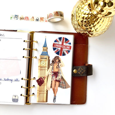 London Planner Dividers - Set of 6