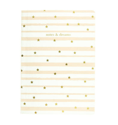 Magical Gold Stars Soft Cover Journal