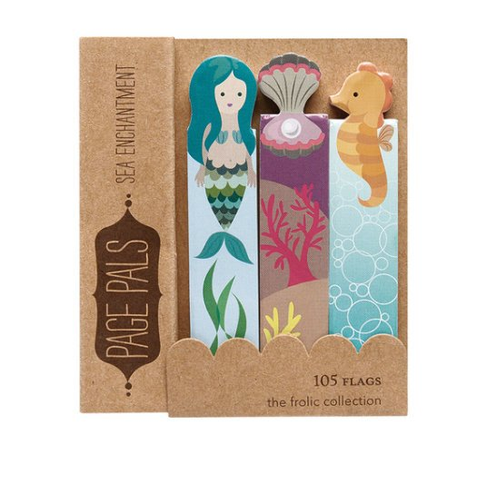 Mermaid Page Flags Bookmarks