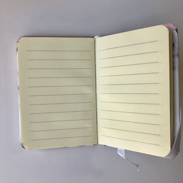 MINI Hardcover Marble Notebook