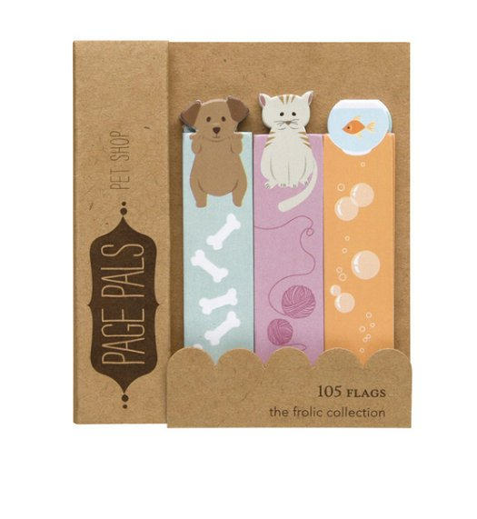 Pets Page Flags Bookmark