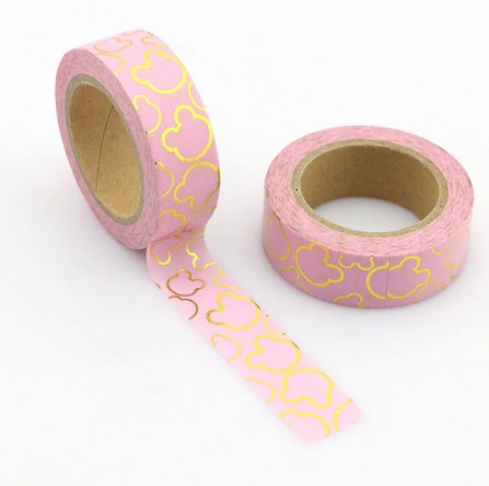 Pink Mickey Washi Tape