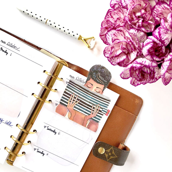 Planner Girl Bookmarks