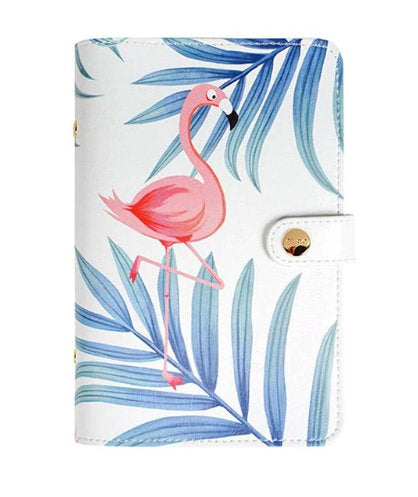 Soft Faux Leather Flamingo Planner