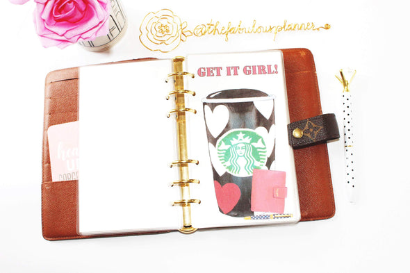 Starbucks Cup Planner Dashboard