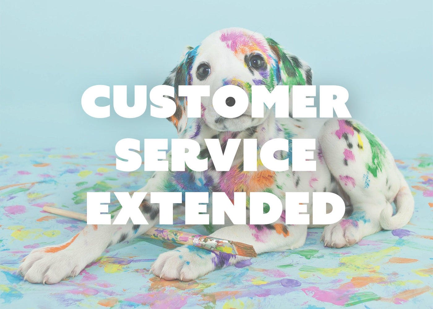Customer Service Extended to 4pm
