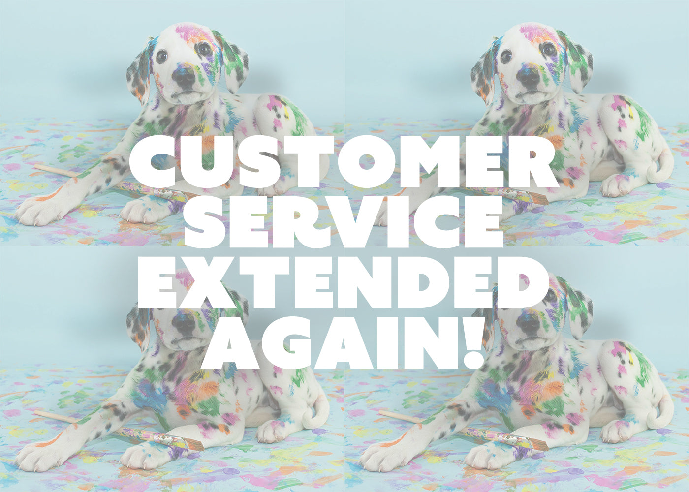 Customer Service Extended to 6pm