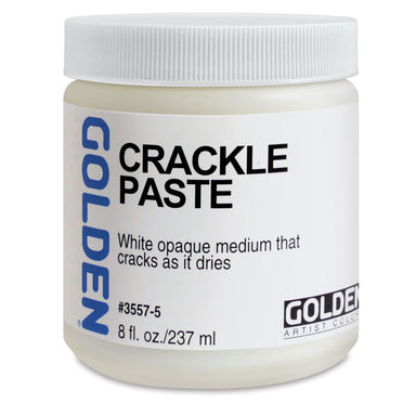 Golden Crackle Paste - 8 oz - by Golden - K. A. Artist Shop