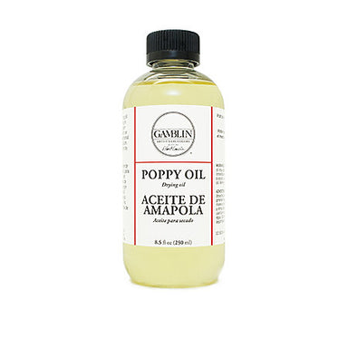Gamblin Poppy Oil - 8 oz. - by Gamblin - K. A. Artist Shop