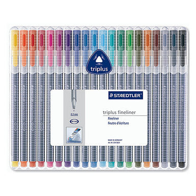 Staedtler Triplus Fineliner 20 Piece Set - by Staedtler - K. A. Artist Shop