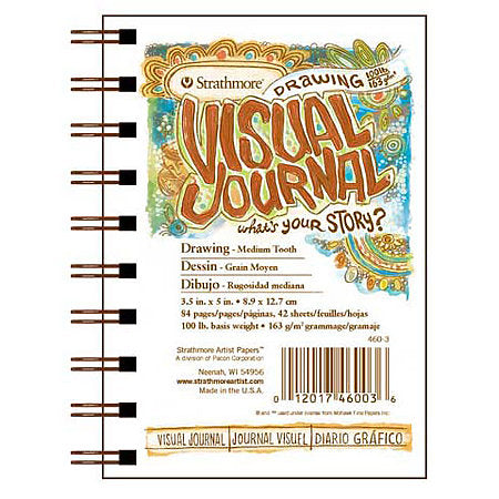 Strathmore Visual Journal - 9 x 12 inches - Drawing by Strathmore - K. A. Artist Shop