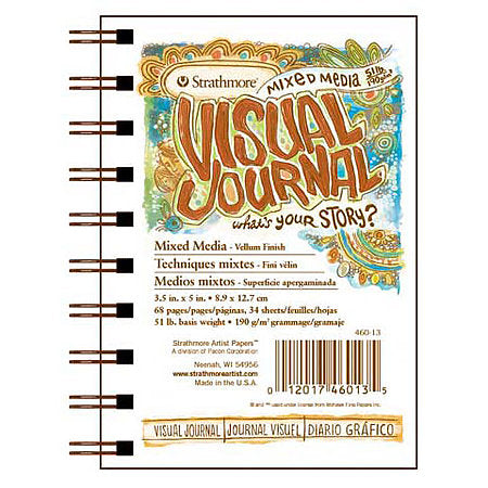 Strathmore Visual Journal - 9 x 12 inches - Mixed Media by Strathmore - K. A. Artist Shop