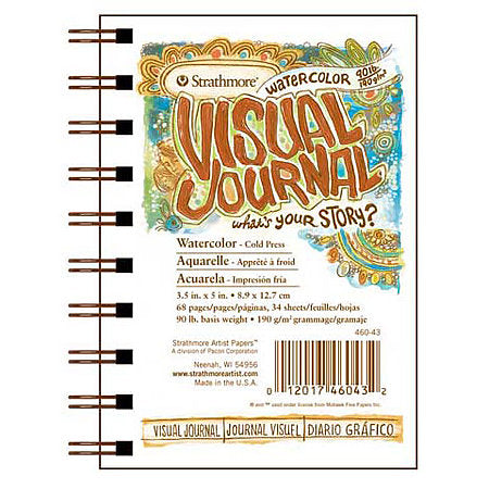 Strathmore Visual Journal - 9 x 12 inches - Watercolor 140# by Strathmore - K. A. Artist Shop