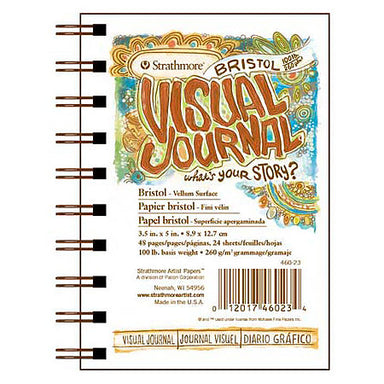 Strathmore Visual Journal - 9 x 12 inches - Bristol - Smooth by Strathmore - K. A. Artist Shop