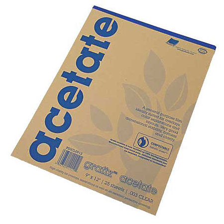 Grafix Clear Acetate Film - Pads & Sheets