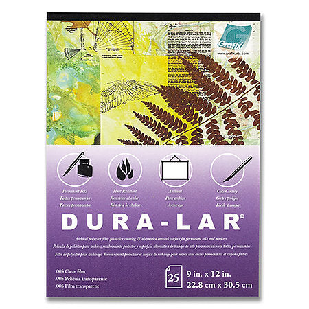 Dura-Lar .005 Clear Film Sheets (25 pack)