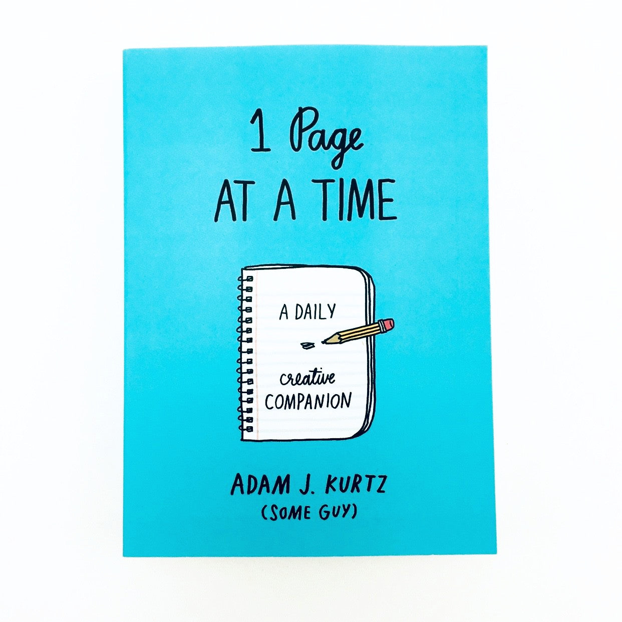 """One Page at a Time"" Book by ADAMJK - by ADAMJK - K. A. Artist Shop"