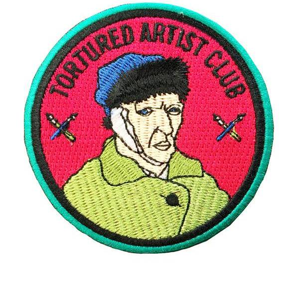 Tortured Artist Club Patch by Culture Flock