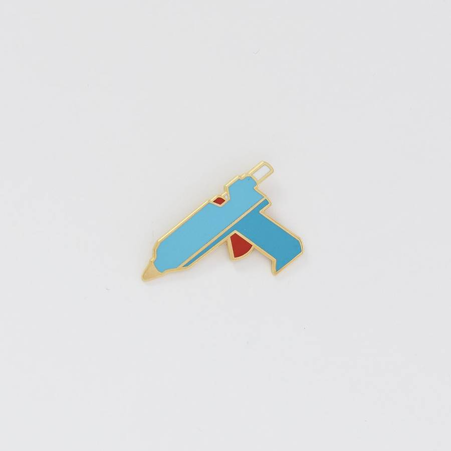 City of Industry Glue Gun Enamel Pin