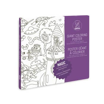 Magic Coloring Poster by OMY