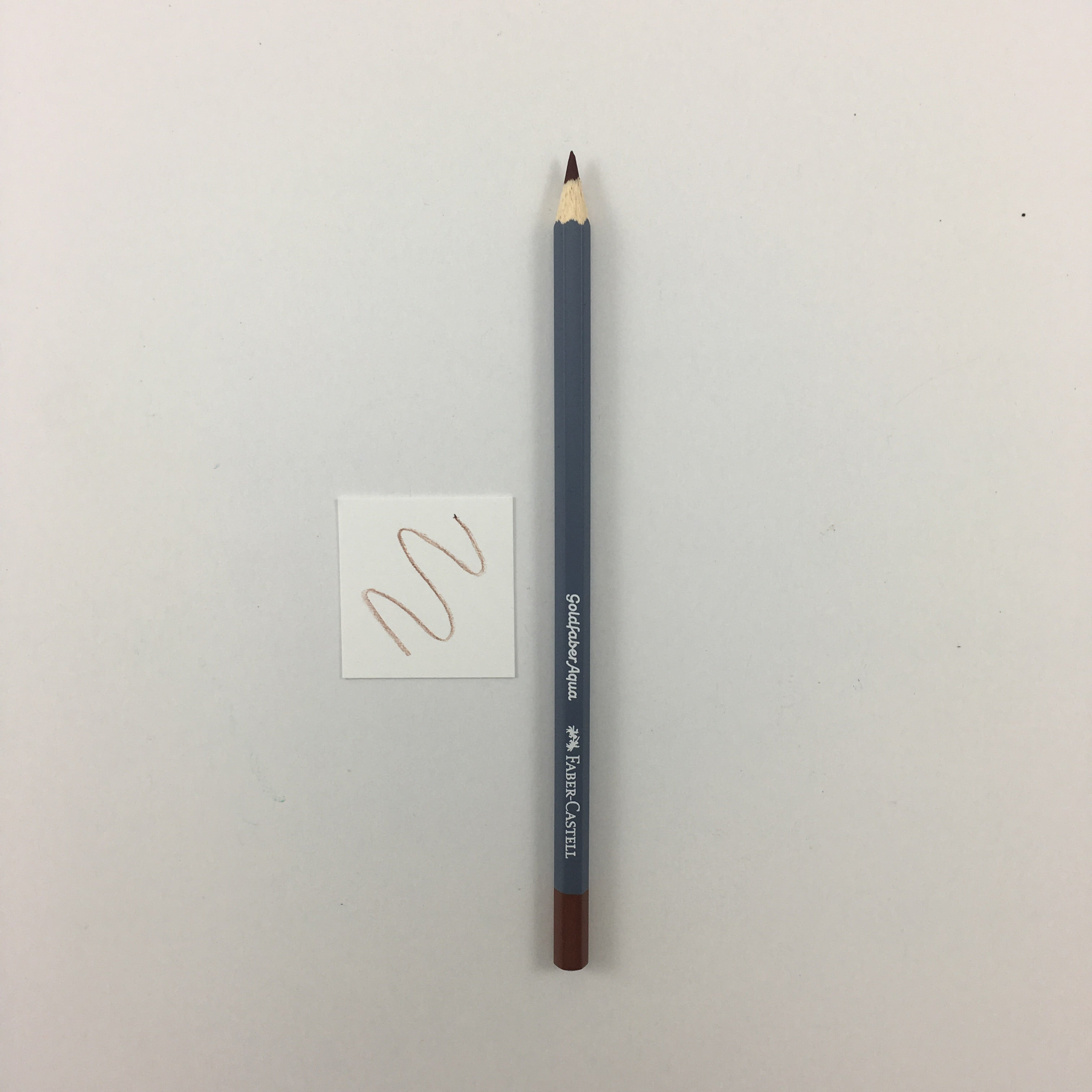 Faber-Castell Goldfaber Aqua Watercolor Pencils - Individuals - 283 - Burnt Sienna by Faber-Castell - K. A. Artist Shop