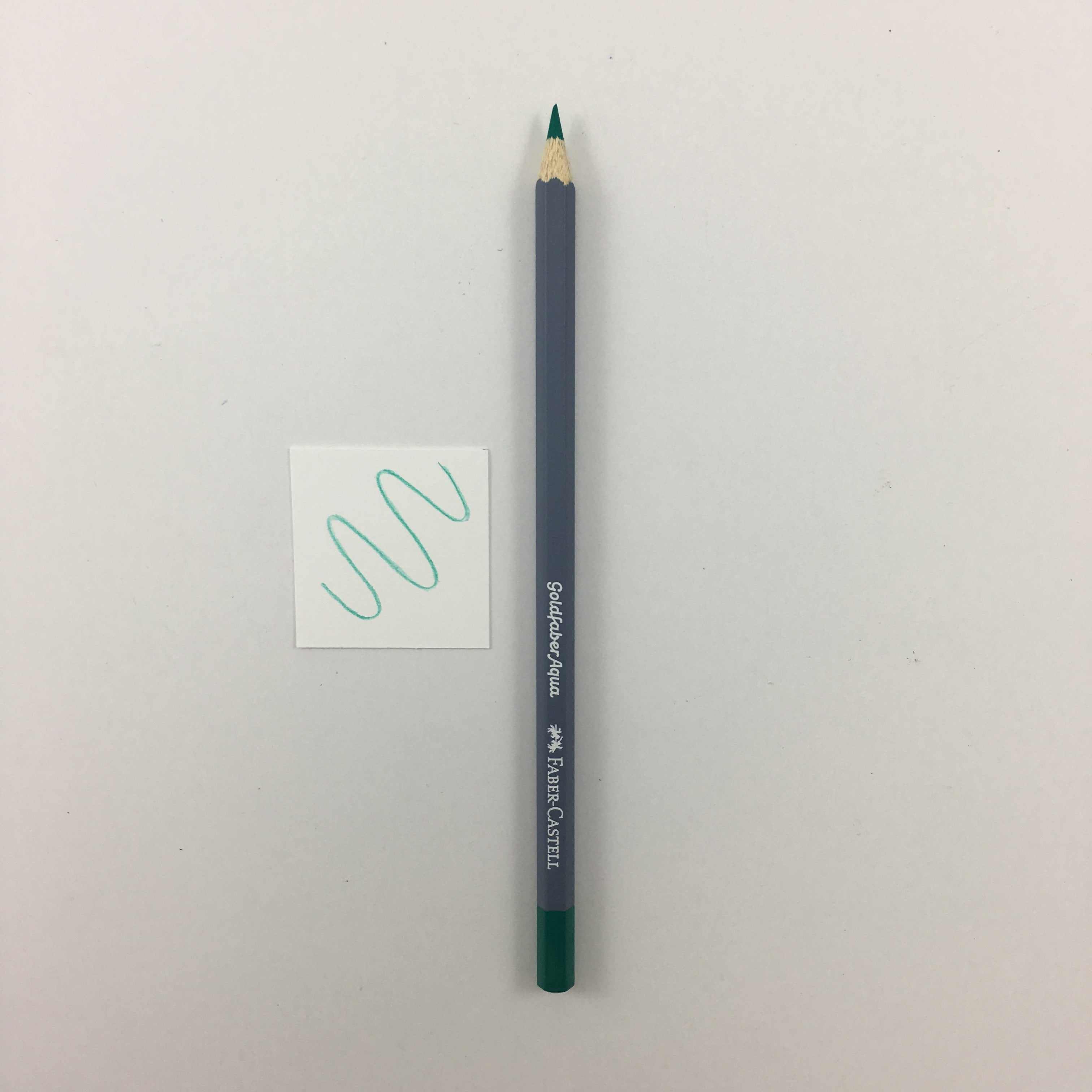 Faber-Castell Goldfaber Aqua Watercolor Pencils - Individuals - 161 - Pthalo Green by Faber-Castell - K. A. Artist Shop