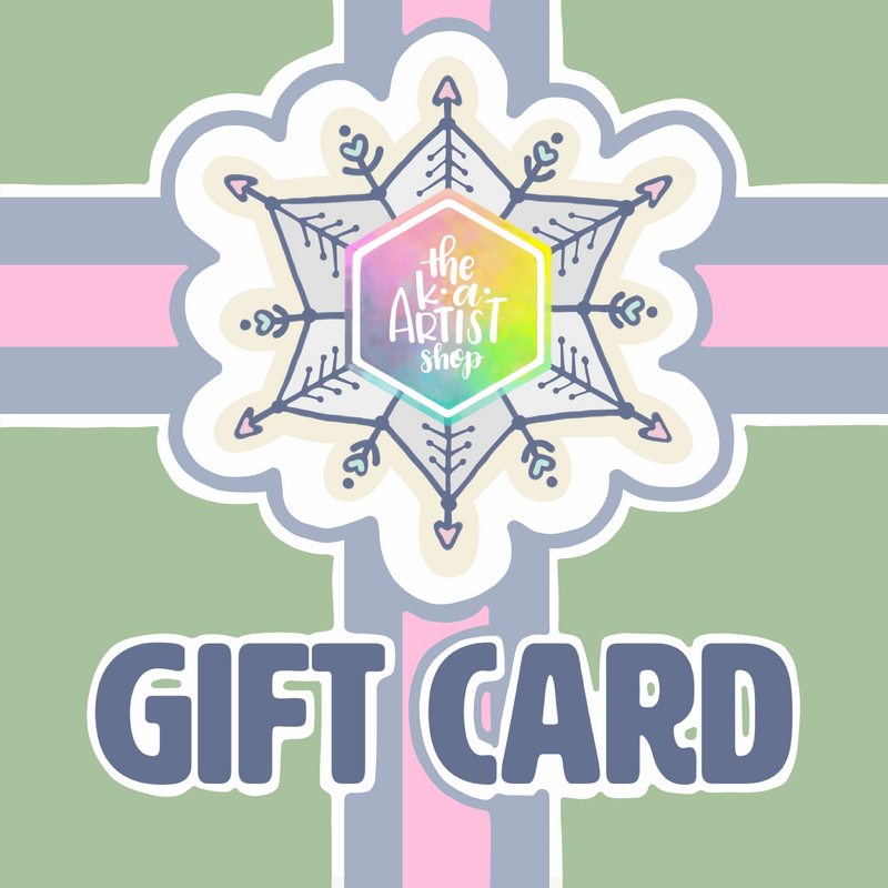 Gift Card for K. A. Artist Shop