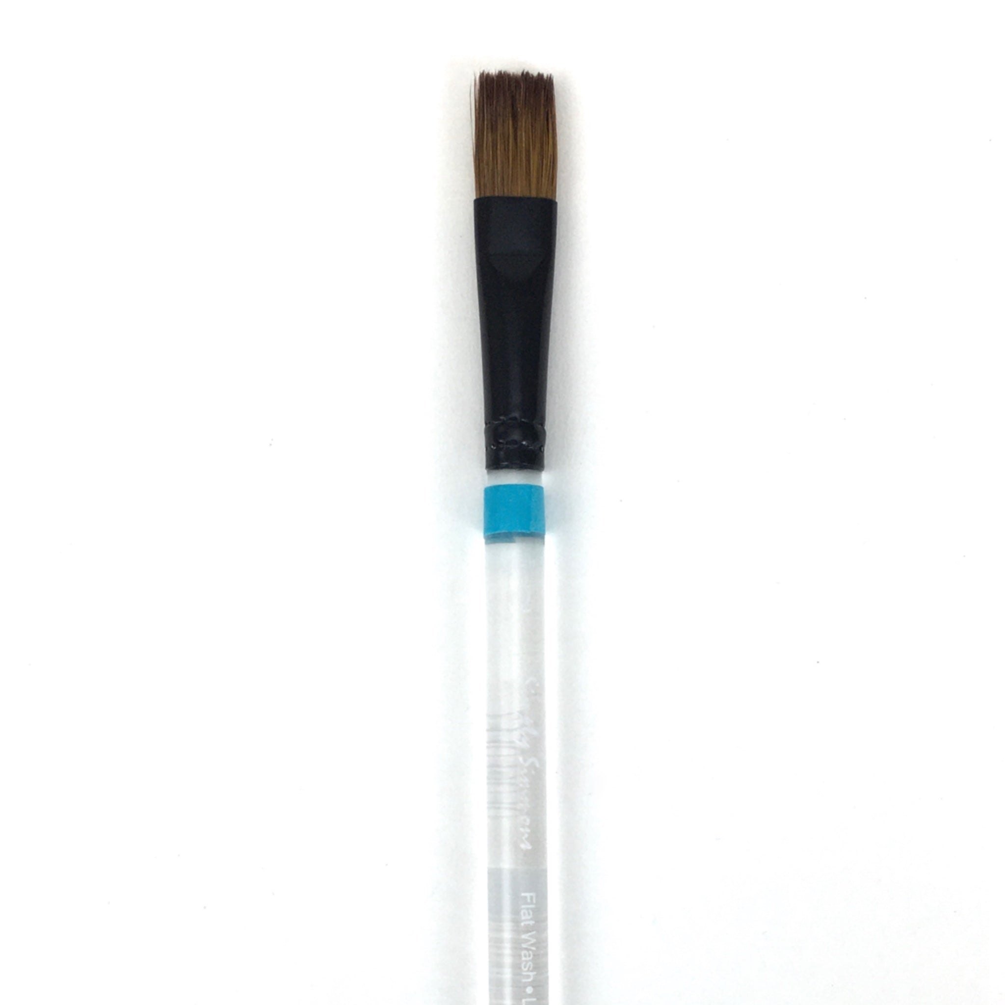 Robert Simmons Simply Simmons Watercolor Brush (Short Handle) - Flat Wash / - 1/2 inches / - natural by Robert Simmons - K. A. Artist Shop