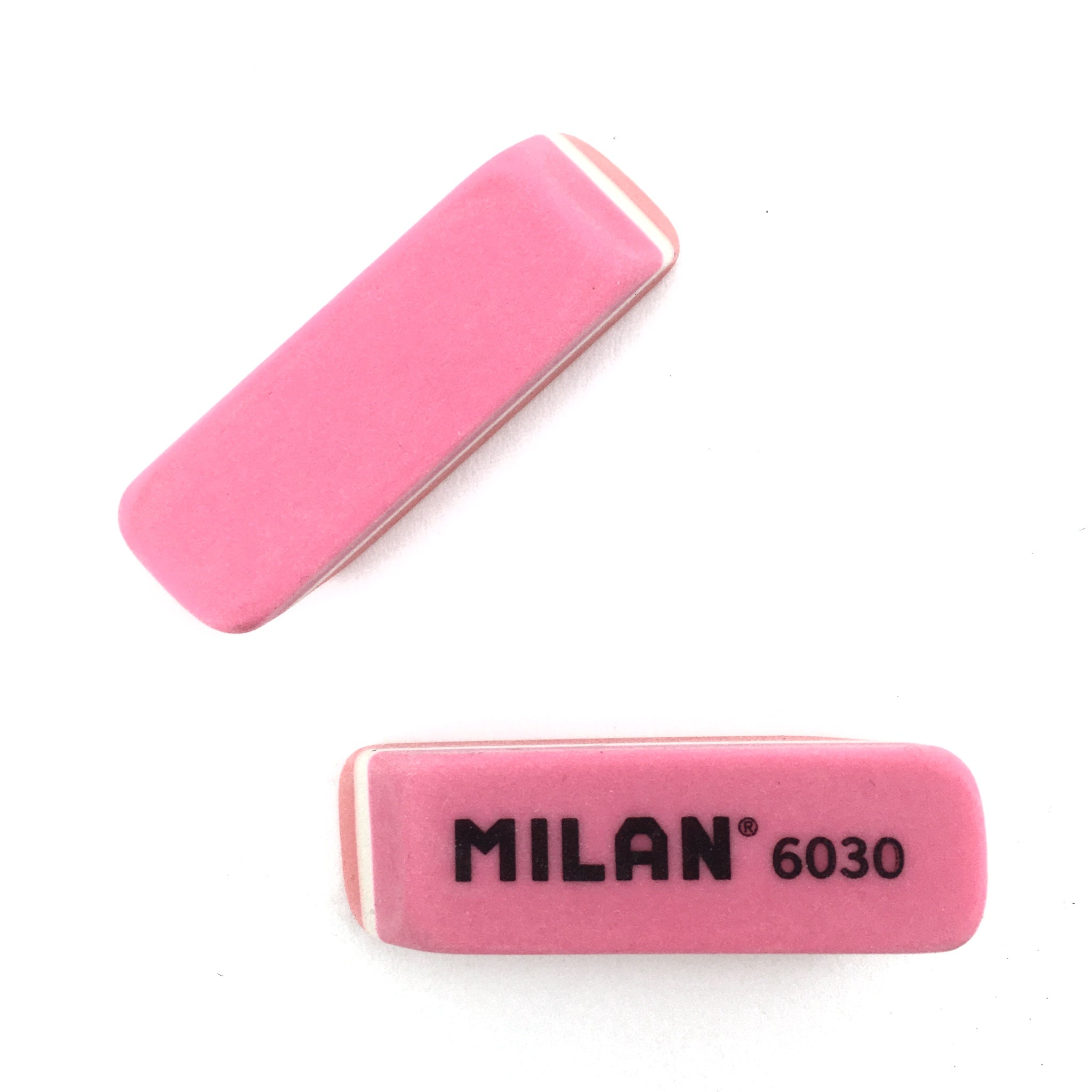 Milan Plastic Eraser - Red and Pink by Milan - K. A. Artist Shop