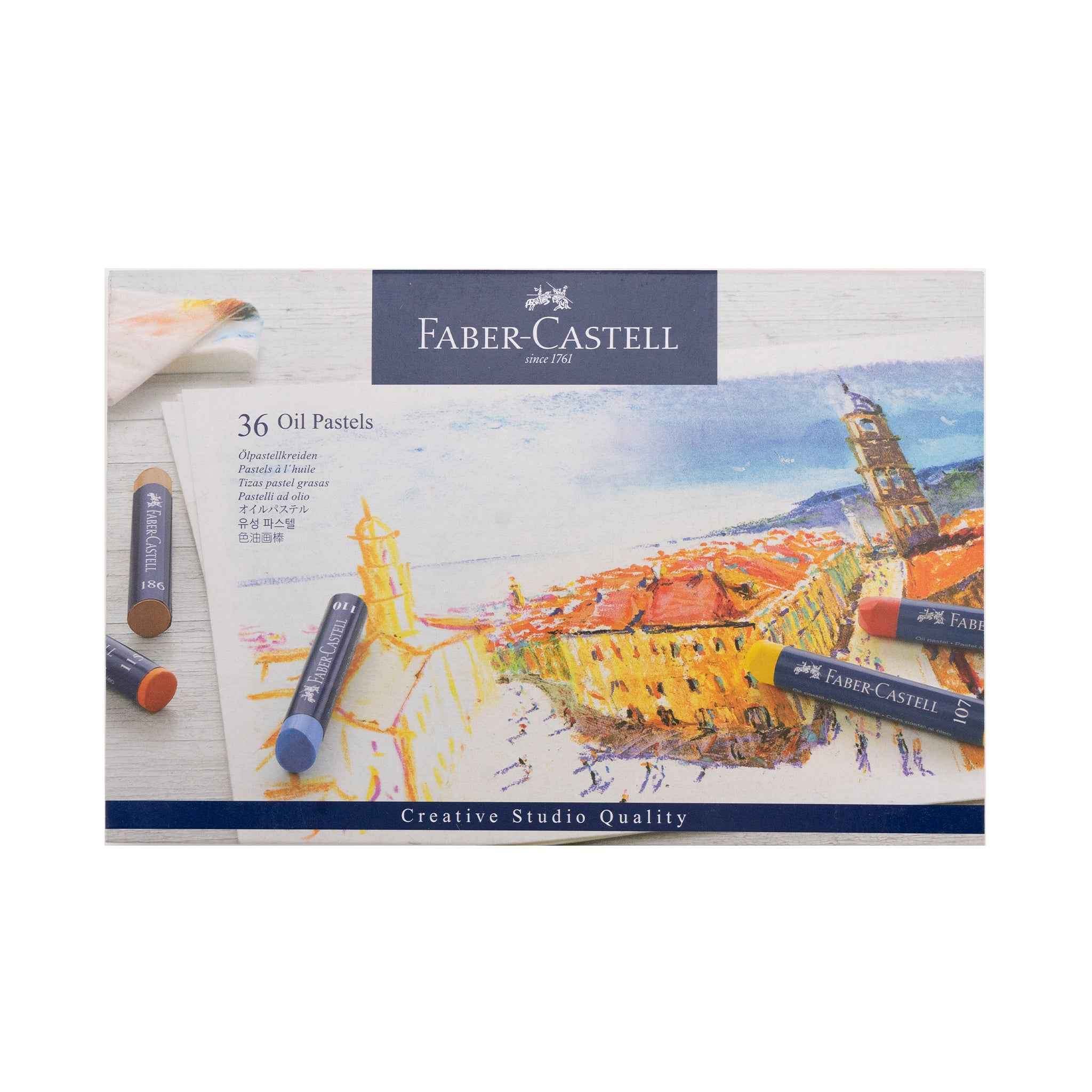 Faber-Castell Creative Studio Oil Pastels - by Faber-Castell - K. A. Artist Shop