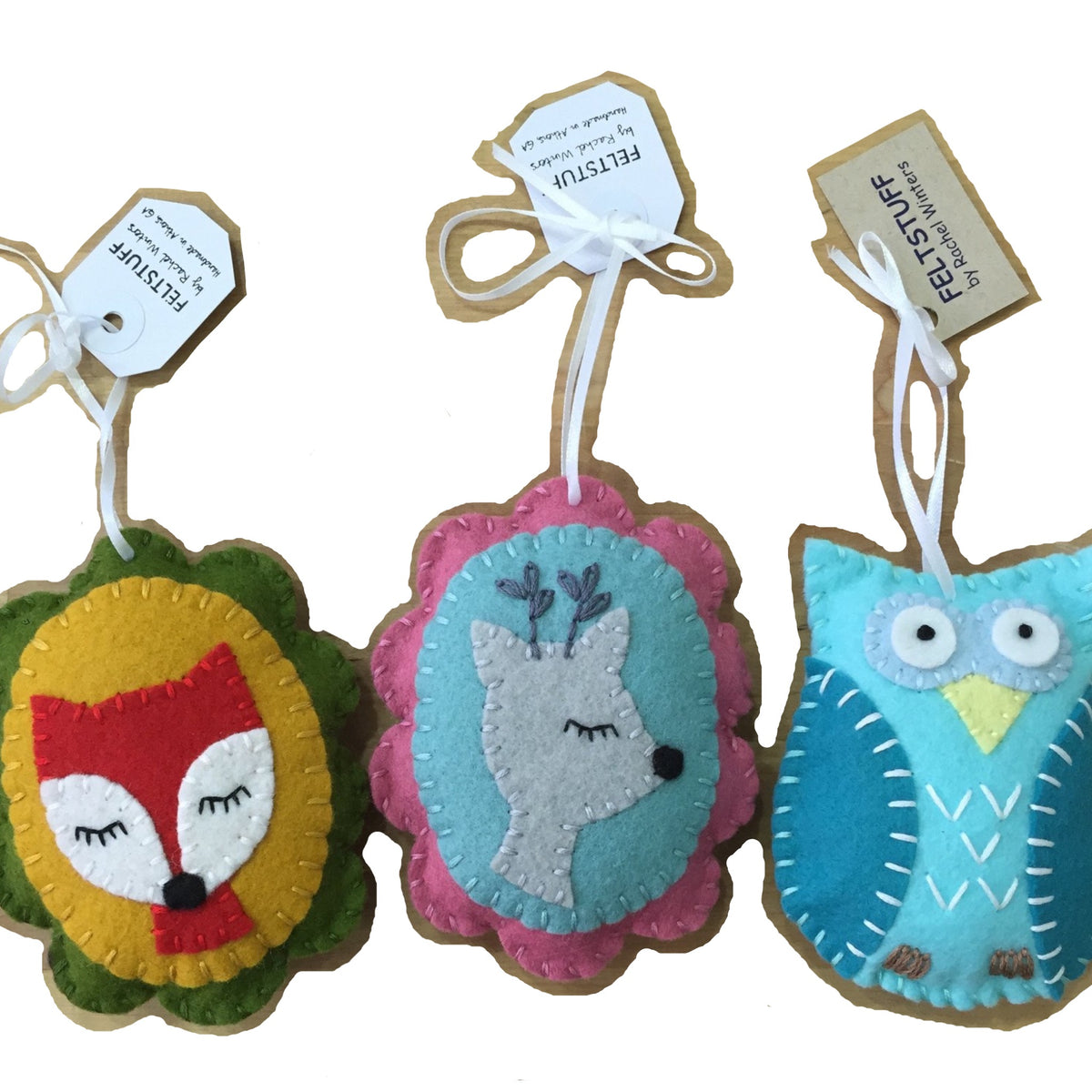 Felt Ornaments by FELTSTUFF